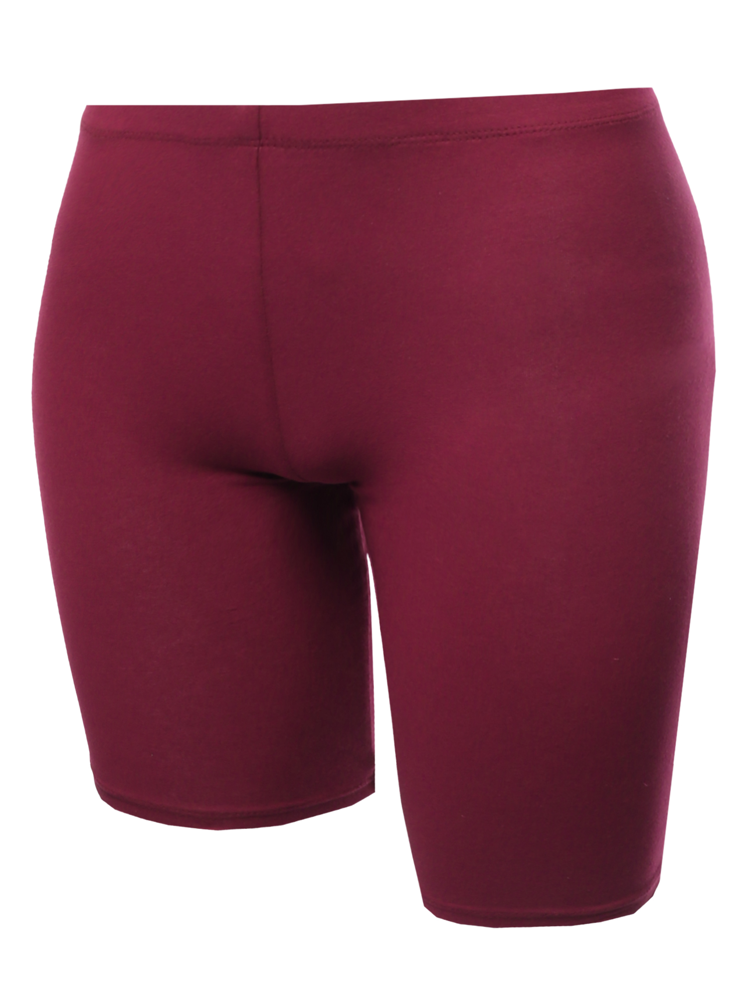 ac8cc753db FashionOutfit Women's Bike Yoga Shorts Cotton Spandex Stretch Boyshorts