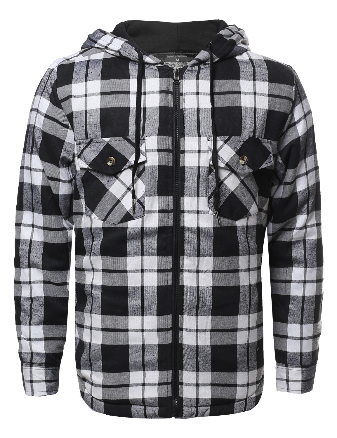 COMUNE Men's LARGE Branton Ombre Flannel Hooded Jacket Brown Black Plaid HTF. Pre-Owned. $ or Best Offer +$ shipping. Cahartt Men's J Sandstone Flannel Quilt Lined Hooded Jacket Brown Large. Pre-Owned. Mens BC Clothing HOODED FLANNEL Shirt Jacket Plaid Quilted Lining Blue Red Black See more like this. SPONSORED.
