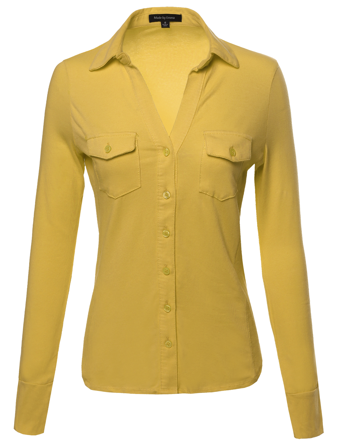 Fashionoutfit Women 39 S Solid Cotton Side Ribbed Pockets