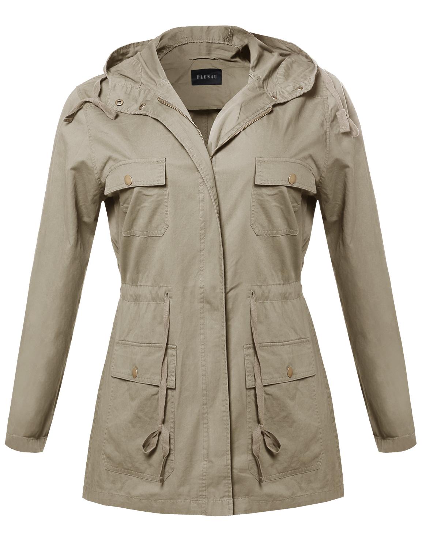 Lightweight coats for women
