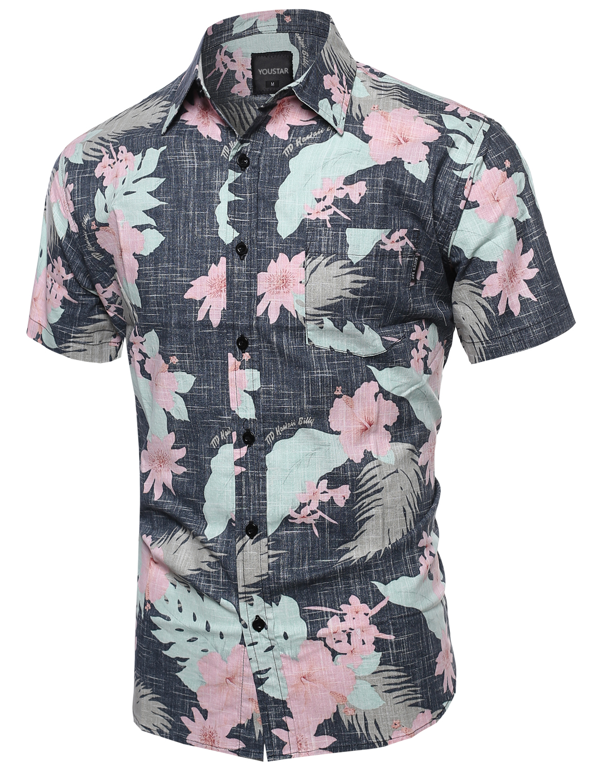 FashionOutfit Men's Beach Hawaiian Tropical Caribbean Print ...