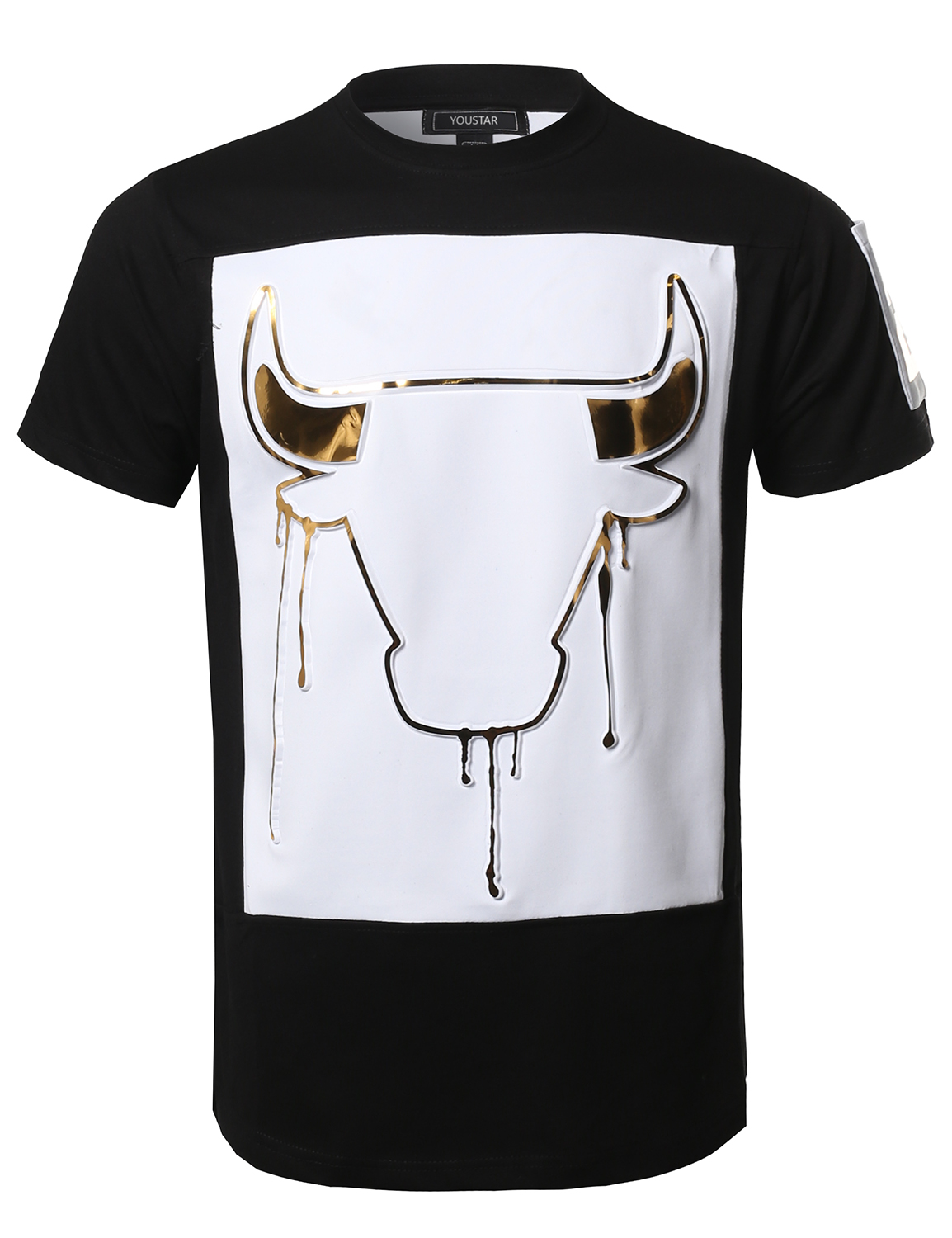 T Shirts With Foil Print Bcd Tofu House