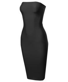 Women's Sexy Bodycon Tube Dress