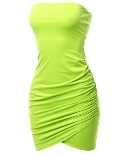 Women's Sexy Bodycon Mini Tube Dress