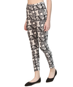 Women's Popular Best Printed Full Length Soft Stretch Leggings