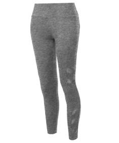 Women's High Waist Side Pockets & Side Mesh Yoga pants