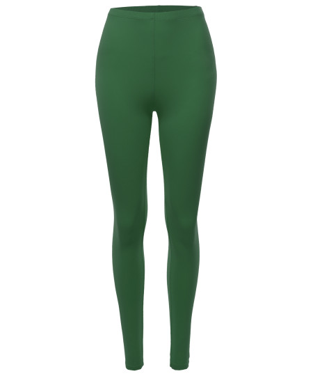 Women's Basic Premium Soft Leggings (S~3XL)