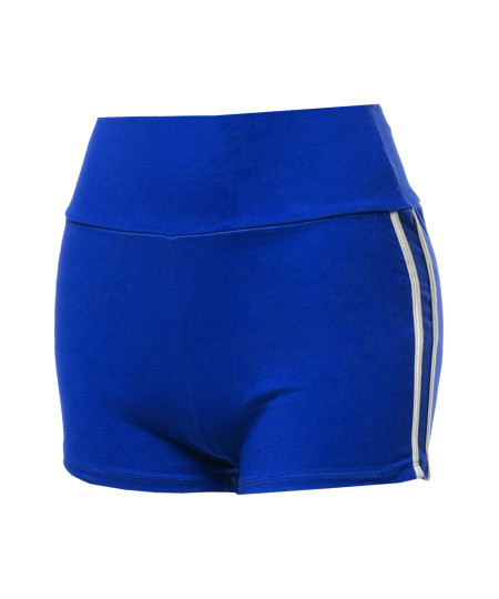 Women's Casual Elastic Waistband Workout Running Athletic Active Shorts
