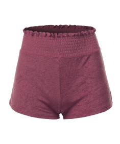 Women's Soft French Terry Running Lounge Active Shorts