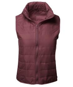 Women's Casual Comfortable Super Light Weight Packable Down Puffer Vest