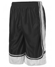 Men's Athletic Basketball Double-Stitched Shorts S-3XL