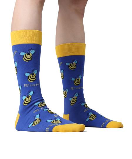 Men's Premium Quality Casual Graphic Dress Socks (1 Pair)