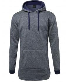 Men's Fine Quality Fleece Lined Side Zipper Pullover