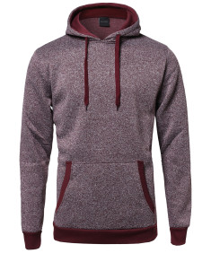 Men's Fine Quality Plush Fleece Lined Pullover