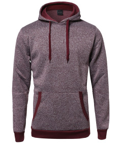 Men's Fine Quality Plush Fleece Lined Pullover