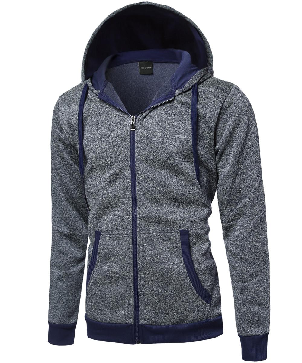 Fleece hoodie jacket
