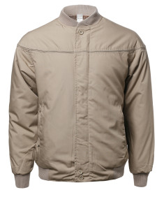 Men's Classic Cotton Bomber Jacket