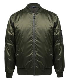 Men's Classic Style Zip Up Bomber Jacket