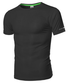 Men's Workout Active-wear Short Sleeve Top