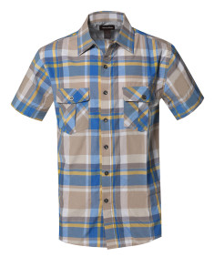 Men's Western Casual Chest Pockets Button Down Shirts