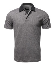 Men's Casual Regular fit Cotton Basic Short Sleeve Polo T-Shirt