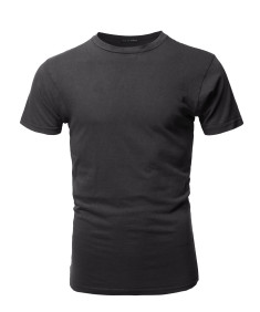 Men's Basic T Shirt Casual Vintage Crewneck Tee