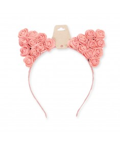 Women's Cute Floral Party Costume Festival Concert Cat Ear Headband
