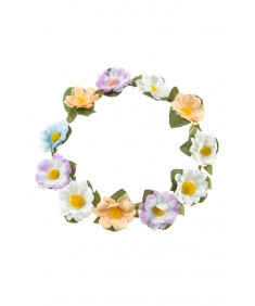 Women's Boho Style Party Wedding Beach Festival Multi Flower Headband