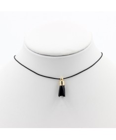Women's Fashion Charm Vintage Stainless Black Small Whinny Necklace