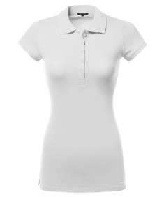 Women's Women's Basic Polo Shirt in Various Colors