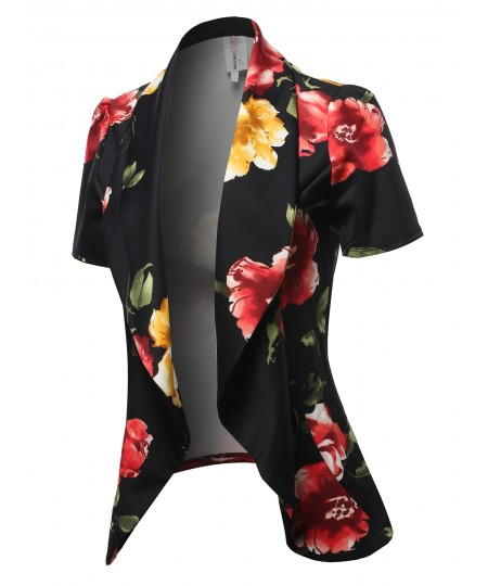 Women's Classic Short Sleeve Blazer