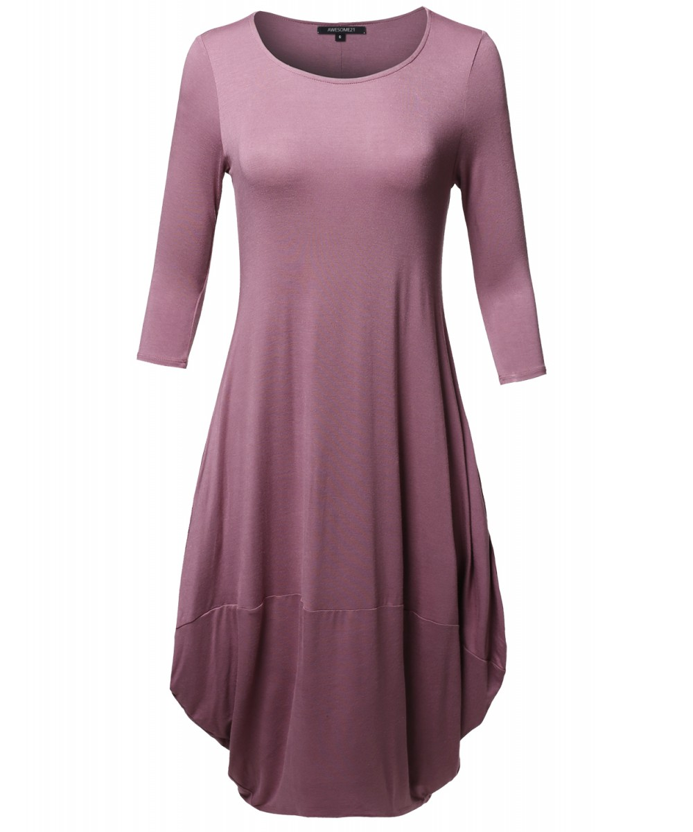 25927a3b2c3 Womens Midi Dress With Pockets - Data Dynamic AG