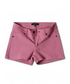 Women's Solid Stretchable Basic Plain Ponte Short Pants
