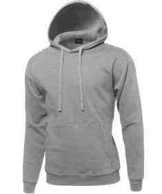 Men's Basic Pullover Oversided Hoodie