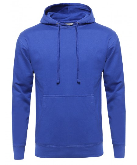 Men's Various Color Basic Pullover Heavyweight Sweatshirt