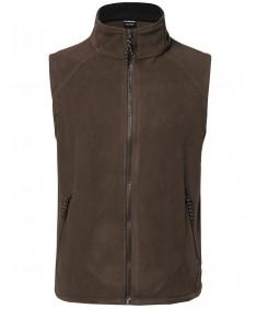 Men's Soft and Cozy Midweight Fleece Vests