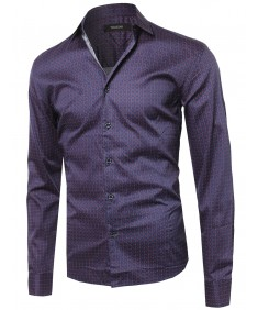 Men's Long Sleeve Button Up Shirt