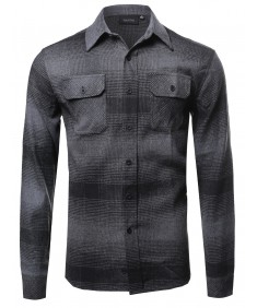 Men's Plaid Soft Touch Flannel Shirt