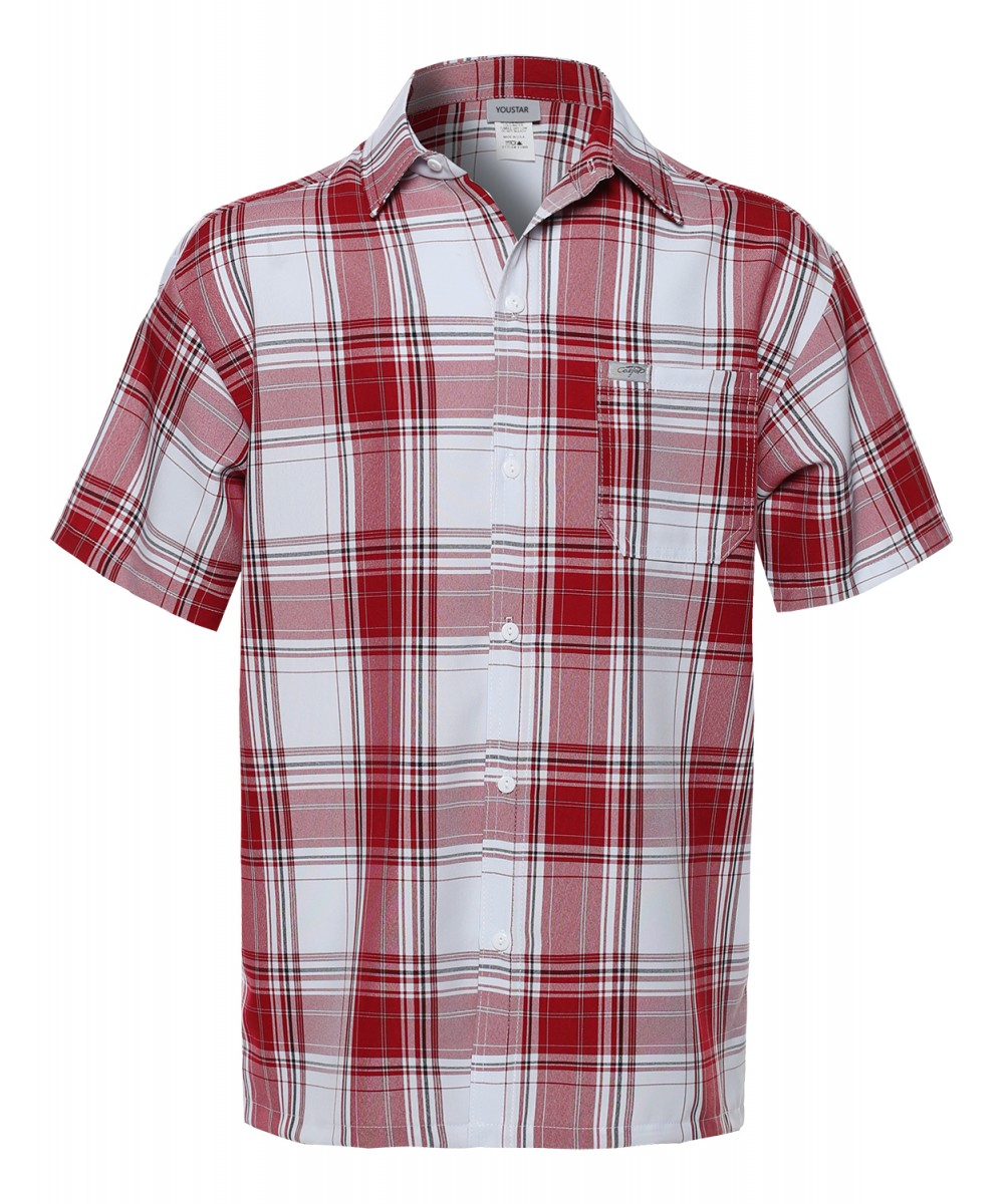 Red and white plaid shirt mens south park t shirts for Red and white plaid shirt mens