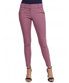Women's Basic Slim Fit Office Pants Stretchy Full Length