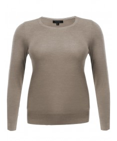 Women's Long Sleeve Crew Neck Classic Sweater Various Colors