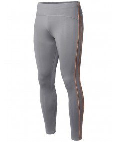 Men's Athletic Compression Base Layer Fitness Tight Pant