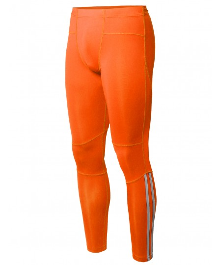 Men's Athletic Compression Base Under Layer Fitness Running Tight Pant