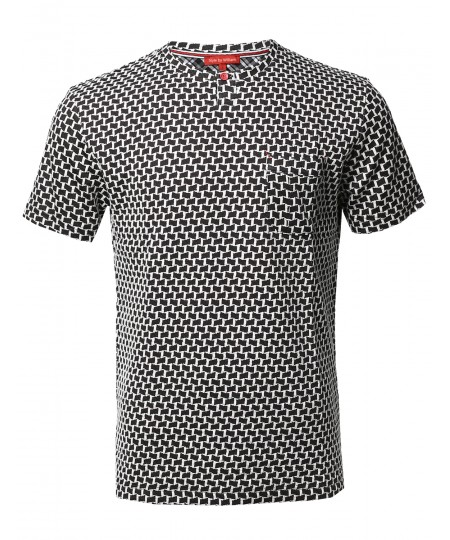 Men's Casual Fine Quality Cotton Short Sleeve Various Style Top