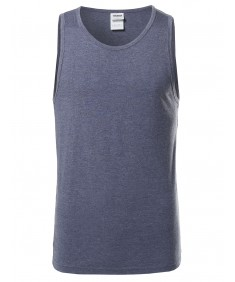 Men's Basic Solid Various Color Tank Top