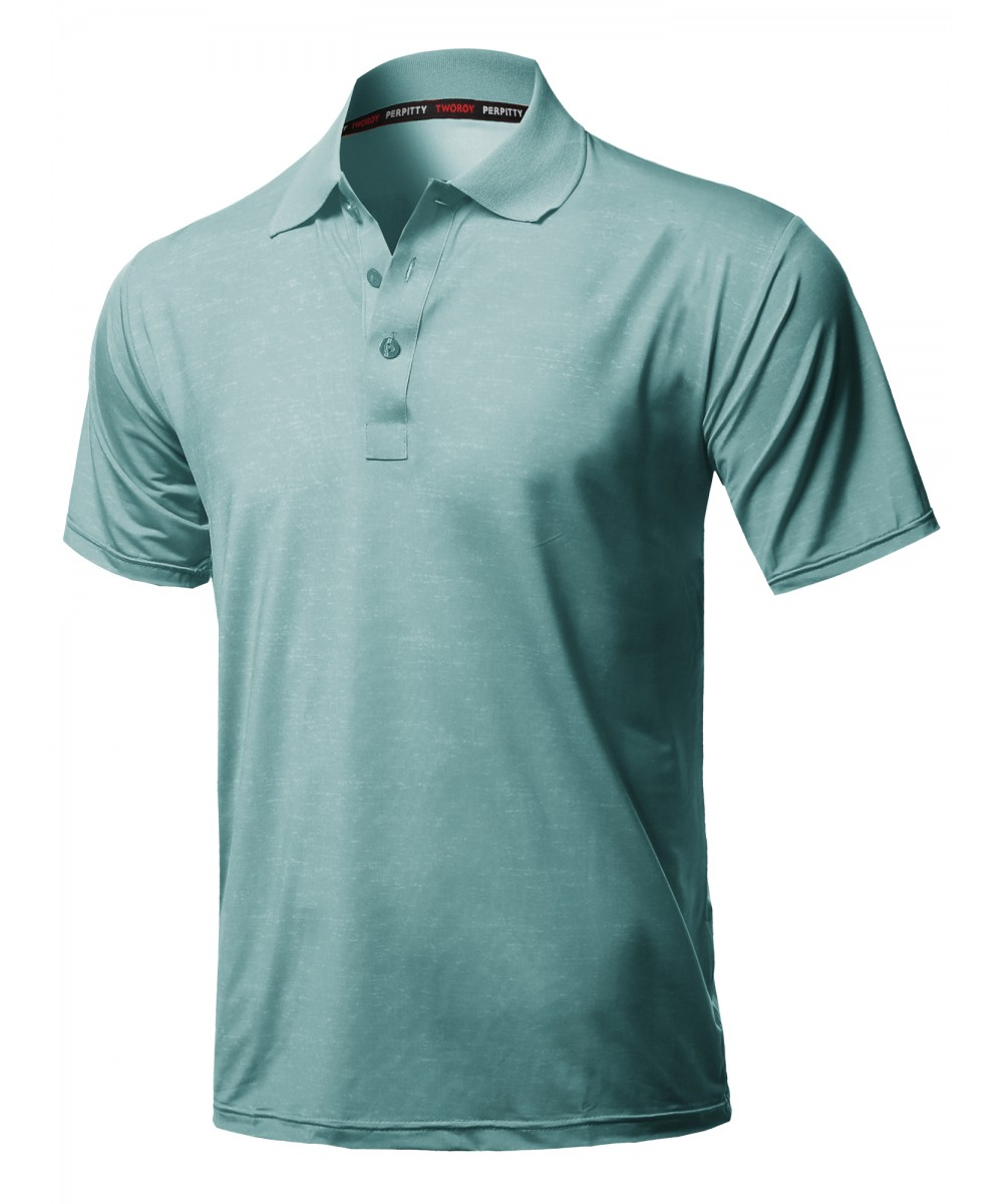 Mens Casual Outdoor Sporty Uv Protection Polo Shirt Fashionoutfit