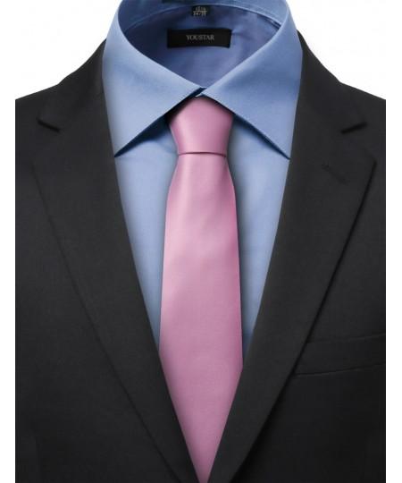 Men's Classic Solid Neck Tie