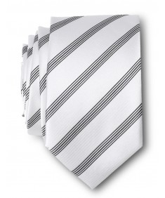 Men's Luxurious Stripe Patterend Slim Neck Tie