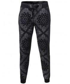 Men's New Stylish Comfortable Bandana Jogger Harem Pants