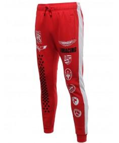 Men's Racing Logo Drawstring Sweat Pants